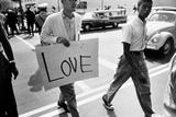 The March on Washington: Love, 28th August 1963 Reproduction photographique par Nat Herz
