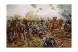 The First VC of the European War, 1914 Reproduction procédé giclée par Richard Caton Woodville II