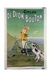 Poster Advertising the 'De Dion-Bouton' Cycles, 1925 Lámina giclée por Felix Fournery