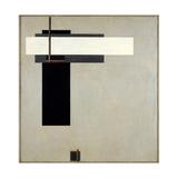 Composition Proun GBA 4, c.1923 Giclee-trykk av El Lissitzky