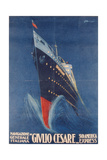 Poster Advertising the 'Giulio Cesare' Giclee Print by  Italian School