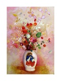Bouquet of Flowers in a Japanese Vase, c.1905-08 Giclee Print by Odilon Redon