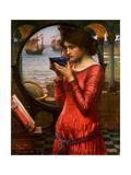 Destiny, 1900 Giclée-tryk af John William Waterhouse