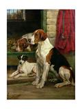 By the Kennels Gicléetryck av Wright Barker