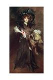 Mademoiselle Lanthelme, 1907 Giclée-tryk af Giovanni Boldini