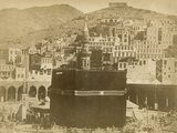 The Kaaba, Mecca, 1900 Reproduction photographique par S. Hakim