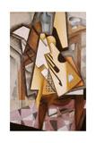 Guitar on a Chair Impressão giclée por Juan Gris