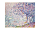 The Seine at St. Cloud, 1903 Giclee Print by Paul Signac