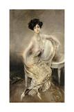 Portrait of Rita de Acosta Lydig, 1911 Giclée-tryk af Giovanni Boldini