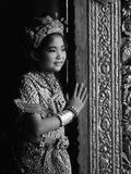 A Young Thai Classical Dancer Fotografisk trykk