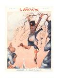 Front Cover of 'Le Sourire', May 1931 Reproduction procédé giclée par  French School