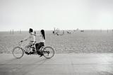 Tandem Bike, Venice Beach, CA, 2006 Reproduction photographique