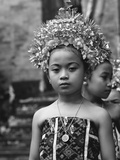 Bali Aga Little Girl Reproduction photographique