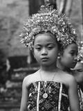 Bali Aga Little Girl Fotografisk trykk