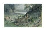 The Fairy Festival Lámina giclée por Gustave Doré