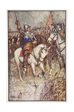 Cromwell and His Ironsides, Illustration from 'A History of England' by C.R.L. Fletcher and… Lámina giclée por Henry Justice Ford