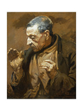 The Flycatcher, 1905 Gicléetryck av Sir William Orpen