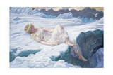 Heart of Snow, 1907 ジクレープリント : エドワード・ロバート・ヒューズ