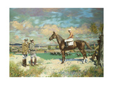 Sergeant Murphy and Things, 1923-24 Gicléetryck av Sir William Orpen
