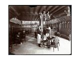The Dutch Room at the Hotel Manhattan, 1902 Reproduction procédé giclée par  Byron Company