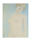 Female Nude Giclee Print by Fernand Khnopff