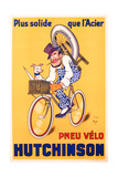 Advertisement for Hutchinson Tyres, c.1937 Stampa giclée di Michel, called Mich Liebeaux