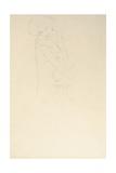 Study for Adele Bloch-Bauer II, 1911 Giclée-Druck von Gustav Klimt