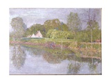 Landscape on the Lys, One Morning in May, 1902 Giclee Print by Emile Claus