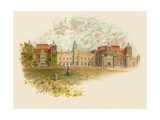 Hatfield House, Hertfordshire - South Front Giclee Print by Charles Wilkinson