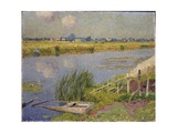 The Lily Banks, 1912 Giclee Print by Emile Claus