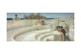 Under the Roof of Blue Ionian Weather, 1901 Giclee Print by Sir Lawrence Alma-Tadema