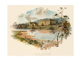 Chatsworth from the Derwent Giclee Print by Charles Wilkinson