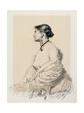 The Portuguese Woman, 1904 Gicléetryck av Sir William Orpen