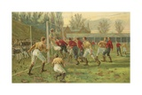 Goal! Giclee-trykk av Thomas Marie Madawaska Hemy