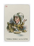 Twinkle, Twinkle, Said the Hatter Stampa giclée di Tenniel, John