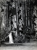 Act I, Scene 1 of 'Pelleas et Melisande' by Debussy, from a Photograph of the First Production in… Reproduction photographique par  French School