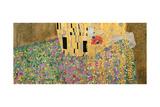 The Kiss, 1907-08 (Detail) Giclée-Druck von Gustav Klimt