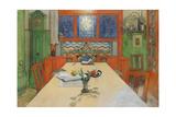 Day Is Done, Good Night! 1908 Reproduction procédé giclée par Carl Larsson