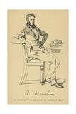 Robert Macnish Giclee Print by Daniel Maclise