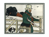 Old English Sports and Games: Shooting, 1901 Giclée-Druck von Cecil Aldin
