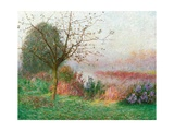 October Morning on the River Lys, 1901 Giclee Print by Emile Claus
