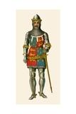 Edward the Black Prince Giclee Print by Albert Kretschmer