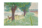 End of August, 1909 Giclee Print by Emile Claus