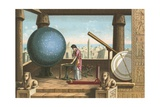 Ptolemy in the Observatory in Alexandria Giclee Print by Ramon Puiggari