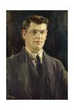 Michael Collins Giclée-tryk af Sir John Lavery