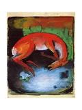 Dead Deer, 1913 Giclée-vedos tekijänä Franz Marc