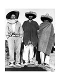 Campesinos, State of Veracruz, Mexico, 1927 Photographic Print by Tina Modotti