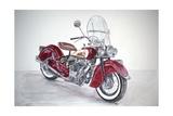 Indian Motorcycle, 2009 Reproduction procédé giclée par Anthony Butera