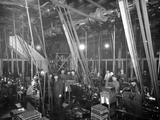 Factory Workers in St Petrsburg, c.1916 Photographic Print by  Russian Photographer