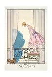 The Mouse, from 'Falbalas and Fanfreluches, Almanach des Modes Présentes, P Giclée-Druck von Georges Barbier